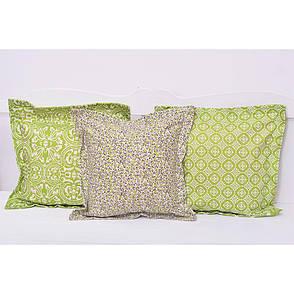 Декоративная подушка Олива 40х40 см, фото 2