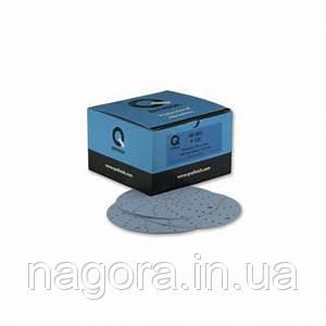 Шлифовальный круг Q-Refinish Premium Blue Disc Velcro P220, 150 мм, 75 отверстий