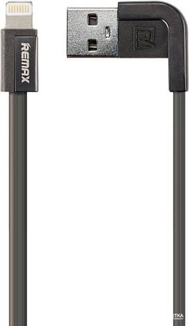 USB кабель Remax Cheynn Lightning black