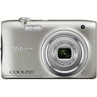 Цифровой фотоаппарат Nikon Coolpix A100 Silver (VNA970E1), фото 1