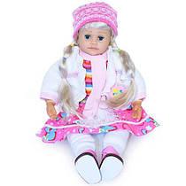 Кукла Ангелина 1050252 R/051 интерактивная, сенсорные руки,муз