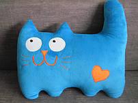 Игрушки подушки коты