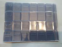 Блок вкладышей на 240 ячеек в альбом для монет М15 и М17