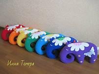Игрушки подушки слоники