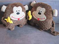 Игрушки подушки обезьянки