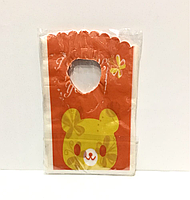 Пакеты мини прорезь, детский, 50 шт.,(90х150мм)