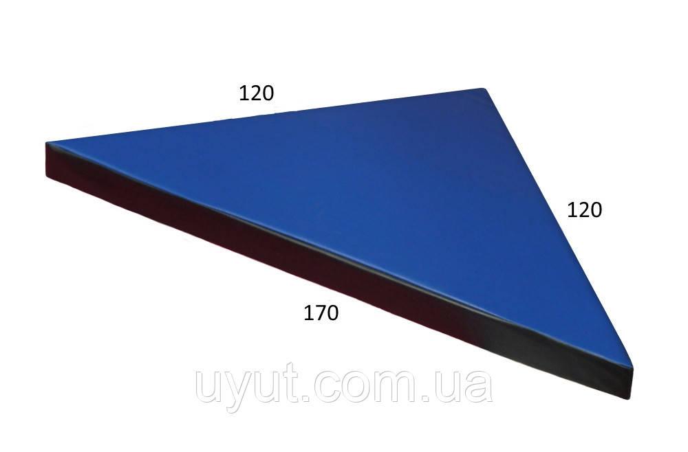 Гимнастический мат «Угловой 120 х170»