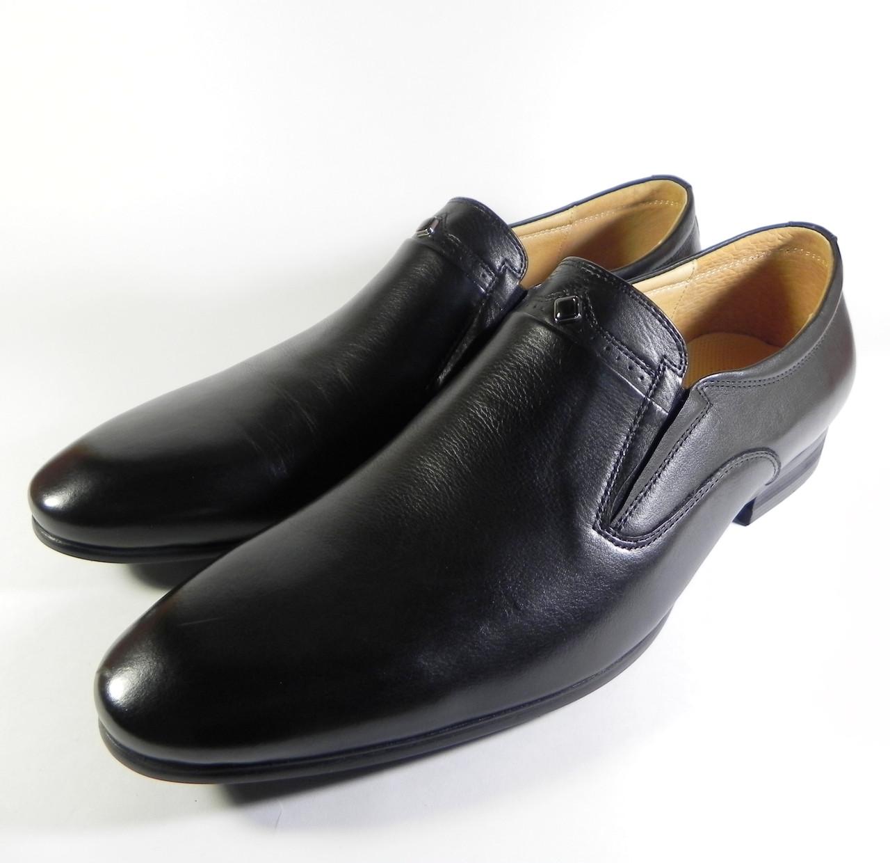 Туфли мужские Boss Victori натуральная кожа черный  продажа, цена в ... 8a72f26d56e