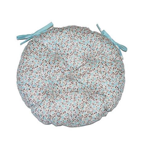"""Круглая подушка на стул """"Тифани"""", фото 2"""