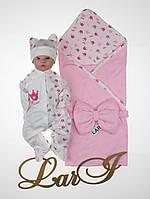 Літній набір для новонароджених дівчаток Princess, фото 1
