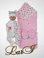 Летний набор для новорожденных девочек Princess, фото 1