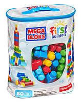Fisher-price Большой конструктор Мега Блокс на 80 деталей