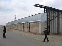 Строительство зернохранилищ в Днепропетровске