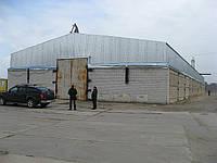 Строительство ангаров в Кировограде