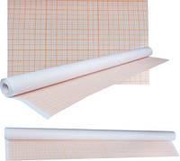Бумага масштабно-координатная (миллиметровка) 878мм x10 м