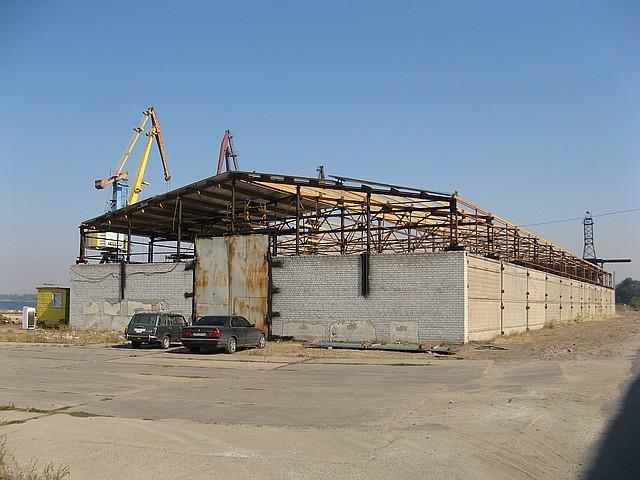 Строительство ангаров в Днепропетровске