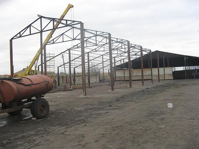 Строительство навесов в Запорожье