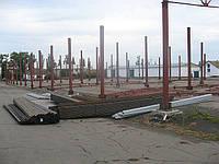 Строительство зернохранилищ. Кривой Рог