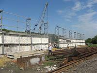 Строительство зернохранилищ в Чернигове
