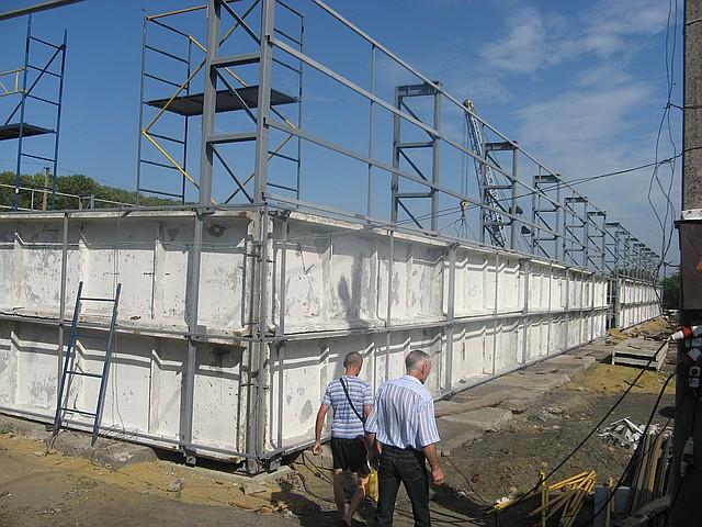 Строительство зернохранилищ в Житомире