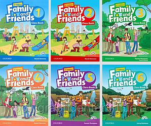 Family and friends 1,2,3,4,5,6 (2-edition) Комплект (Учебник + Тетрадь) Цветная Копия!