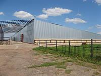 Строительство ангаров в Херсоне