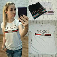 Женская футболка GUCCI Турция р.S,M,L РОЗНИЦА и опт реплика