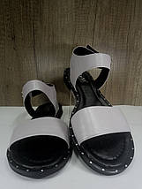 Женские босоножки  на низком ходу , фото 2