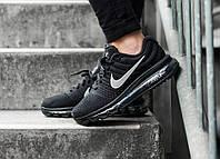 Мужские кроссовки Nike Air Max 2017 Black (Реплика)