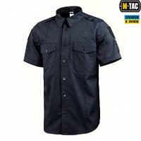 Рубашка M-Tac с коротким рукавом Police Flex Dark Navy Blue