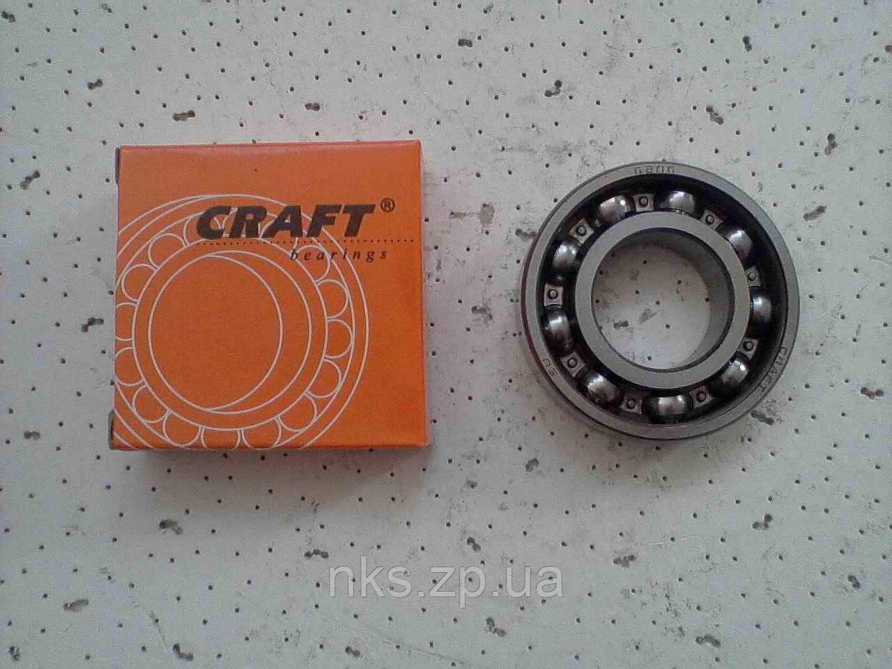 """Подшипник 206 (6206) """"Craft""""."""
