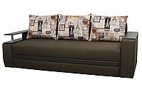 """Диван євро-книжка """"Гаспар"""" тканина Париж. Габарити: 2,35 х 1,05 Спальне місце: 1,90 х 1,60, фото 1"""