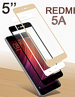 Защитное стекло 3D, 9H Xiaomi Redmi 5A, Захисне скло ксиоми