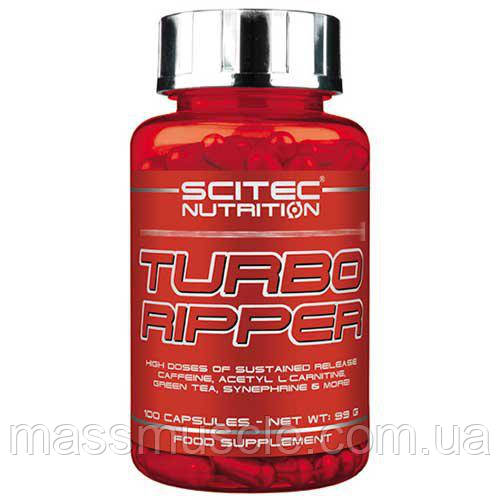 Жиросжигатель Scitec Nutrition Turbo Ripper 100 caps