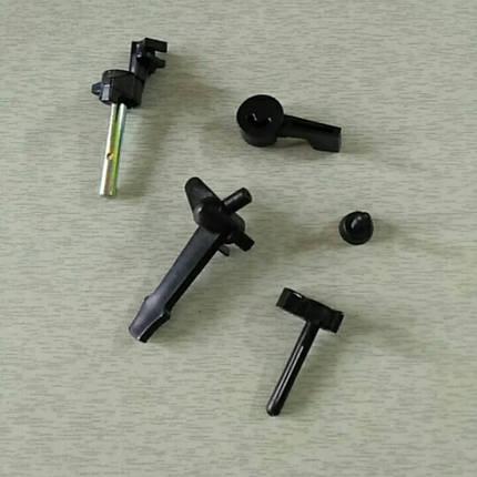 Рычаги карбюратора пластмассовые 5 шт 168F, 170F, фото 2