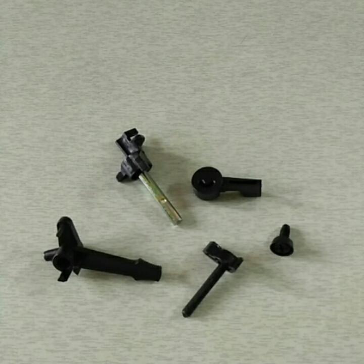 Рычаги карбюратора пластмассовые 5 шт 168F, 170F