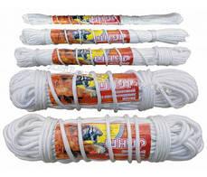 Шнур плетёный полиамидный (капроновый) с наполнением диаметром 1 мм мотки по 25 метров
