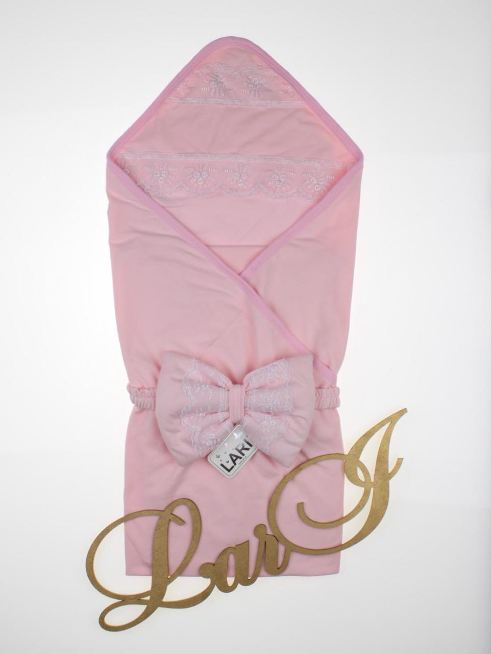 """Летний конверт-одеяло """"Мармеладка"""", розовый"""
