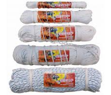 Шнур плетёный полиамидный (капроновый) с наполнением диаметром 1 мм мотки по 100 метров