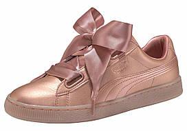 Кеды Basket Heart Copper Wn's (оригинал) женские Puma цвет перламутрово-розовый размер 37 38 38,5 39 арт 36546301
