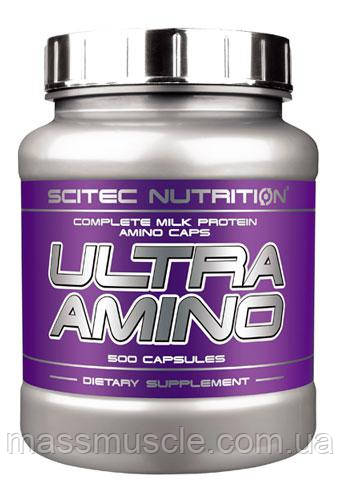 Аминокислоты Scitec Nutrition Ultra Amino 500 caps