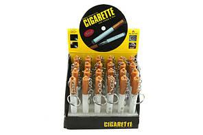 Брелок-сигарета 3 в 1: led-фонарик, лазерная указка, шариковая ручка, 2 режима работы, упаковка 24 шт.