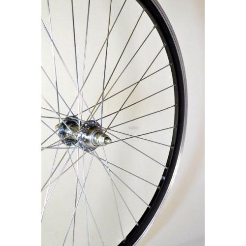"""Велосипедное колесо 24"""" двойной обод, заднее"""