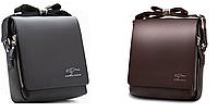 Мужская кожаная сумка-барсетка через плечо Kangaroo Kingdom