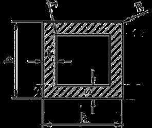 Труба квадратная алюминий 10х10х1 анод