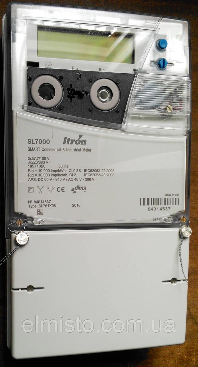 Электросчетчик ITRON SL 7000 (SL761) Smart 3ф.5(10)А кл.0,5S, A±,R± (генерация), многофункциональный