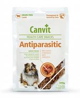 Canvit Antiparasitic 200г - напіввологе ласощі для собак з ягням
