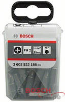 25 насадок для загвинчування Extra-Hart PH 2/25 мм BOSCH