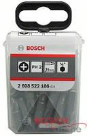 25 насадок для загвинчування Extra-Hart PH 2/25 мм BOSCH, фото 1