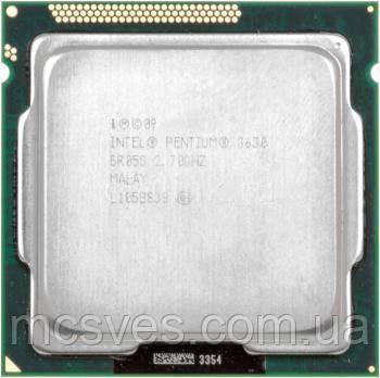 CPU процесcор Intel Pentium Dual Core G630 2.7GHz/5GT/s/3MB s1155 Tray